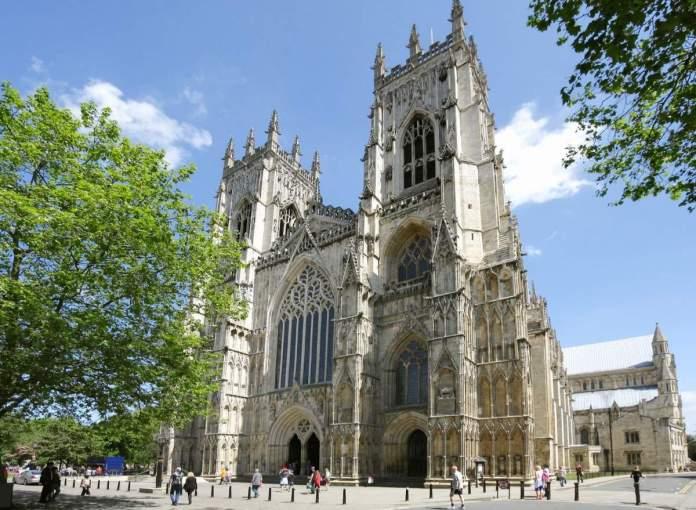 Catedral de York, Inglaterra.
