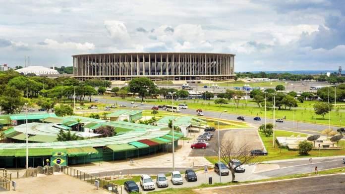 Estádio Mané Garrincha, Brasília.