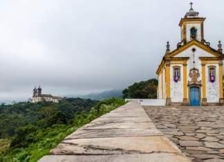 Igreja Nossa Senhora das Mercês em Ouro Preto - Minas Gerais