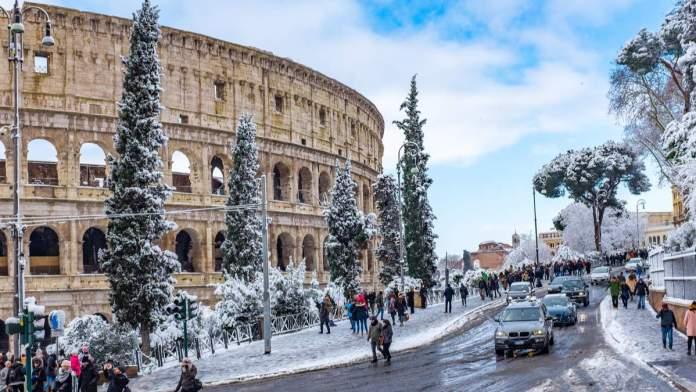 Inverno em Roma - Itália