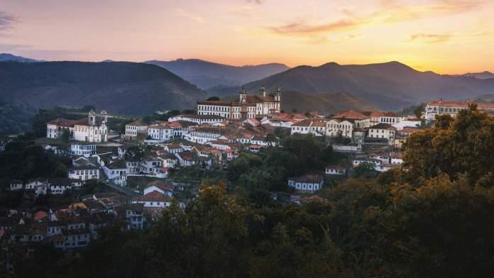 Mirante Morro São sebastião em Ouro Preto - Minas Gerais