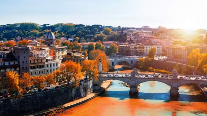 Outono em Roma - Itália