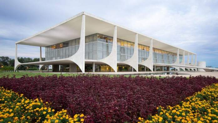 Palácio do Planalto, Brasília.