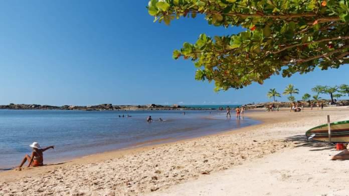 Praia das conchas em Itacaré - Bahia