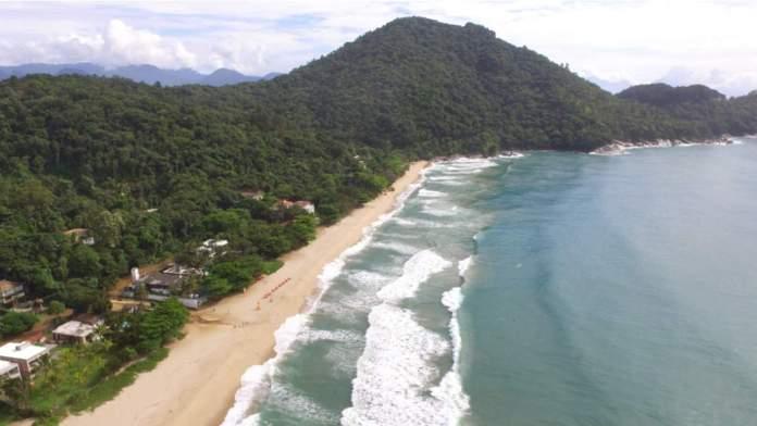 Praia Vermelha do Norte em Ubatuba - São Paulo