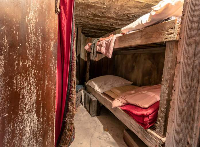 Quarto dos trabalhadores judeus originais na fábrica de Oskar Schindler