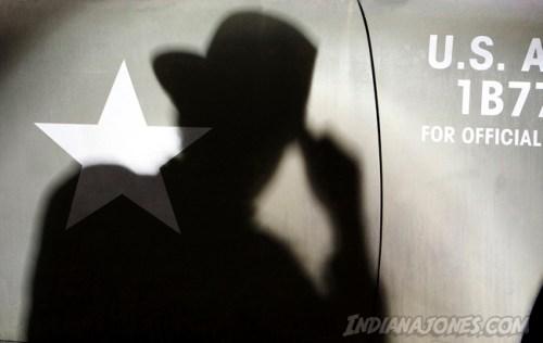 Indiana Jones shadow