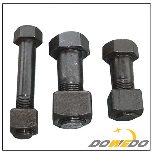 Excavator and Bulldozer Track Shoe Bolt & Nut