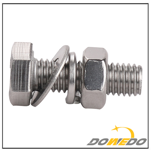 Stainless Steel Hex Head Screws Bolts and Nuts