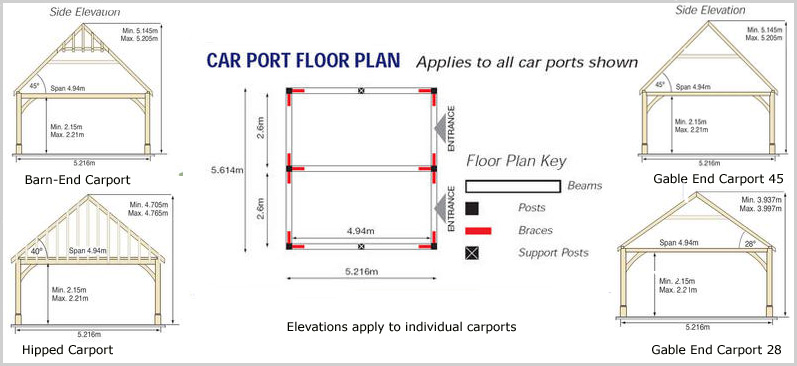 Single Car Carport Dimensions : Pdf plans carport design dimensions download diy coffee