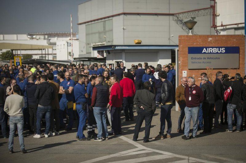 Airbus abrió ayer sus fábricas pese al coronavirus – La otra Andalucía