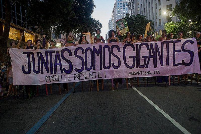 Brasil. El cambio que viene de las mujeres: líderes feministas protagonizan la lucha social