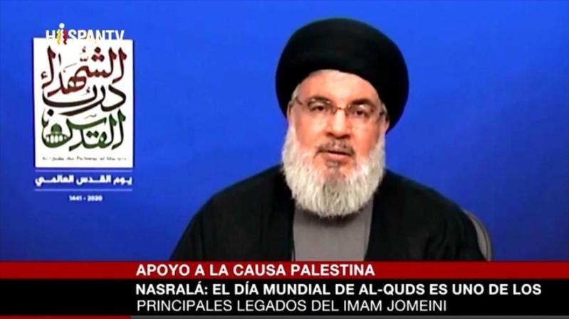 Nasralá: Estamos más cerca que nunca de la liberación de Al-Quds   HISPANTV
