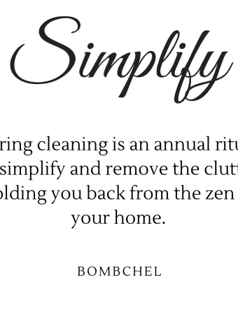 Simplify & Declutter Quote