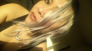 Platinum Blonde (almost silver)