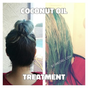 Coconut Oil Deep Conditioning Treatment