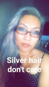 Silver Granny Hair