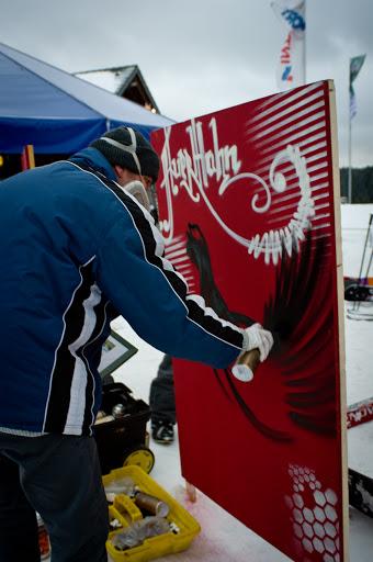Auerhahn, Skigebiet Freiburg, 2012