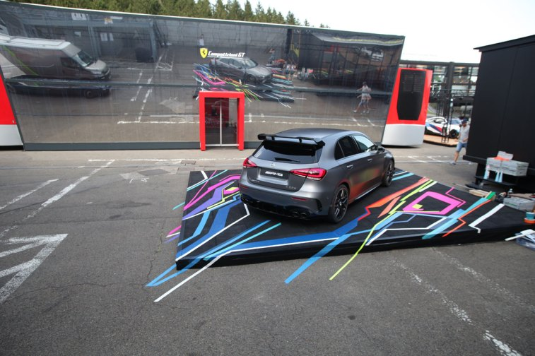 Tape Art 4 AMG-Mercedes, Spa, Belgien/Belgique, 24h race