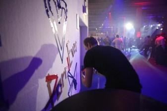 Freestyle Tape Art for Formnext fair, Mesago Frankfurt 2019