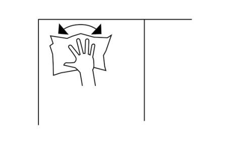 CAMPUSERVICE der Goethe-Universität 2017 Piktogramme: Tafel wischen