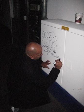 Joseph DeRoche aka Joe TPA tagging in Mainz