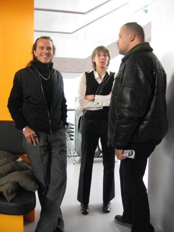 Prof. Murray Forman, Kirsten Gerstner, Frederik Hahn aka Torch, DJ Haitian Star, The Roots of HipHop, Frankfurt 2007