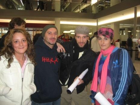 Thenk, Eddie, Fatma Yazici, The Roots of HipHop, Frankfurt 2007