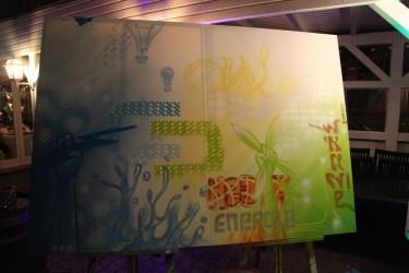 Live Corporate Graffiti Art for Effycor, Alte Bergmühle, Dreieich 12-2017