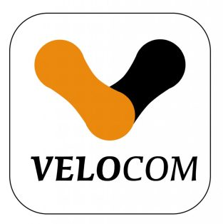 Velocom Corporate Logo design 2007