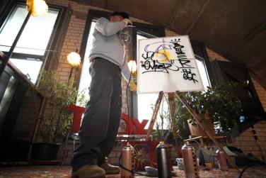 TEDx_Adventure Graffiti-Urban Art Spray Workshop, Kunstfamilie Montez, Honsellbrücke 2016