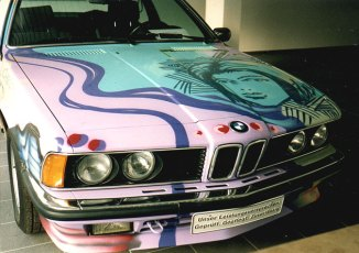 BMW Art Car 1993