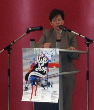 US Konsulin Jo Ellen Power