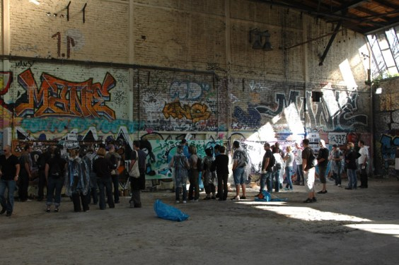 Bouygues Teambuilding Graffiti Workshop, Berlin 2011