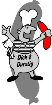 Dick & Durstig. Sympathy character for Sony PlayStation, look like a 60s Advertising, 2009