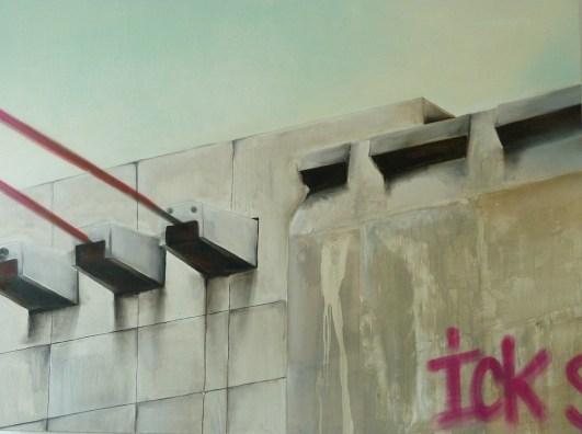 Ick. Free Art on Canvas Kooperation Natalie Goller/Bomber 2009