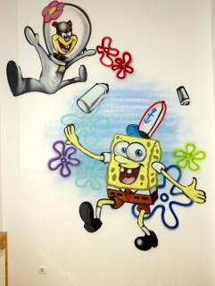 Spongebob Characters Kita Coole Gruppe Frankfurt