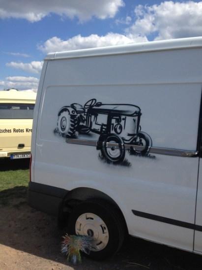 Traktor 14. Landmaschinen Treffen, Transit, Hofheim-Diedenbergen 2017