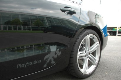 Uniplan PlayStation Retch stencil Audi A5 2011