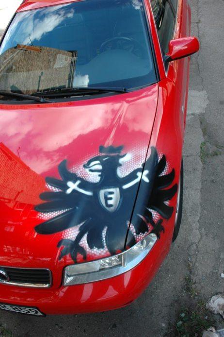 Eintracht Frankfurt Adler Audi 2012