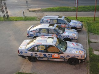 Bembel on cars, Bembelcars - Frankfurt to aman Allgäu-Orient-Rallye 2010
