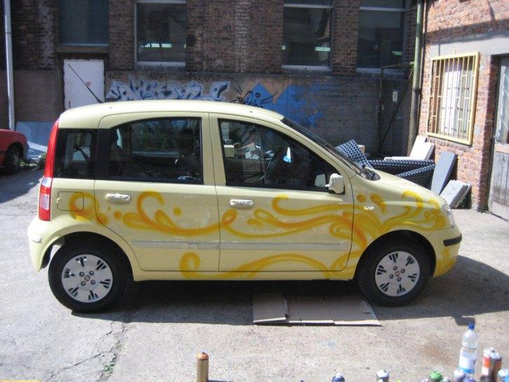 Fiat panda cartattoo 2009