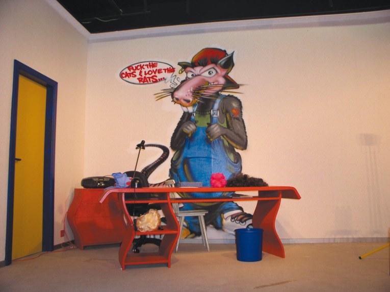Romeo, die Ratte / Romeo, the rat, Gerry Jansen Theater, Alzey 2003