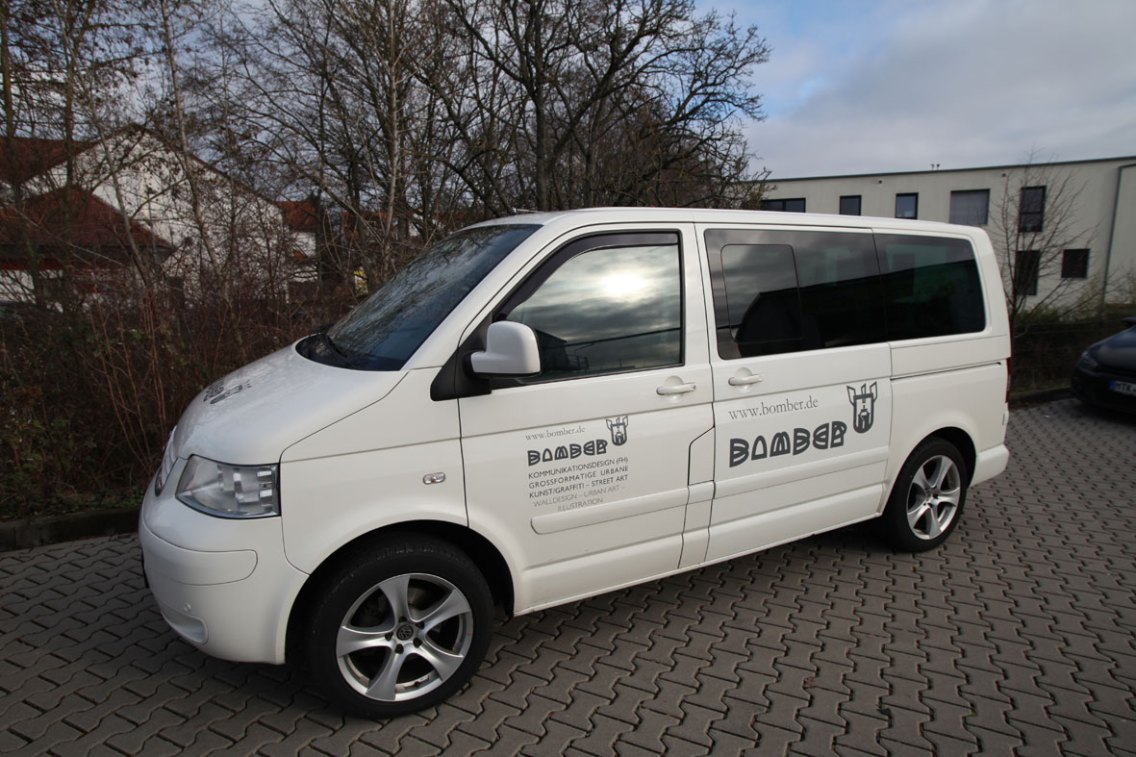 Das mobile Atelier: VW Multivan Highline T5