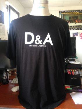 Deutsche & Albaner. Bomber wear shirts