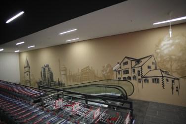 Gallus Frankfurt REWE Graffiti 2017