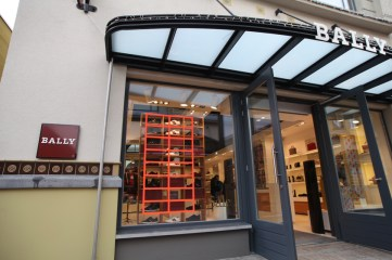 BALLY store Ingolstadt Village Tape Art 2019