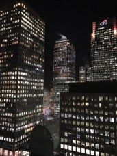 View from the appartement Canary Wharf, 2017