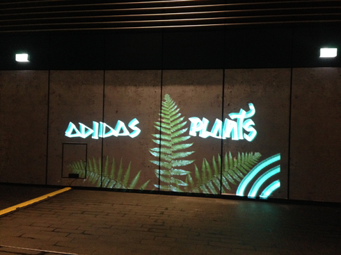 ADIDAS Plants @ Winter City Lights London 2018
