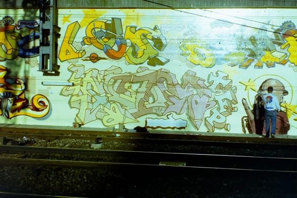 Scum TFP style @ Paris Gare du Nord 1994